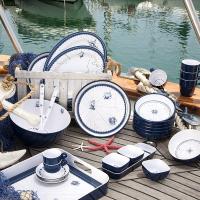 set-piatti-fondi-marine-business-serie-columbus-6-pezzi